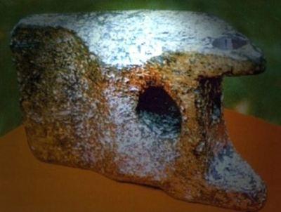 Un tren de aterrizaje de una aeronave de 20,000 años fue descubierto - El gran Vimana
