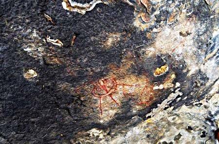 dibujo antiguo India